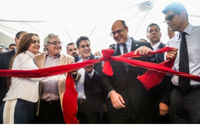 Governador do Estado inaugura o Guarus Plaza Shopping idealizado pelo empresário Joilson Barcelos